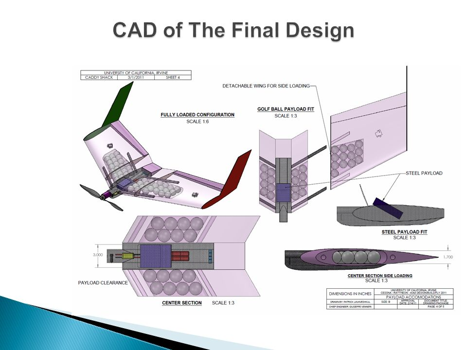 CAD of The Final Design
