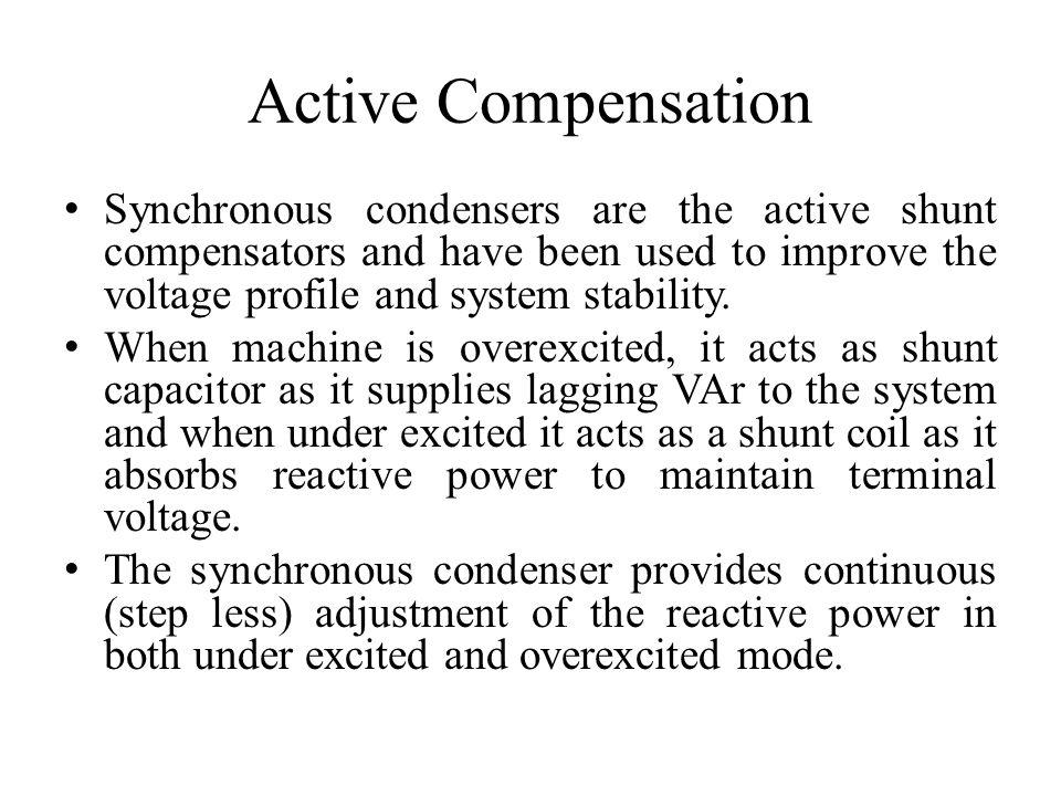 static var compensator to improve profile voltage And static var compensator (svc) in a power system using revamp voltage stability indicator  step 5: to improve the voltage profile, stability and to reduce.