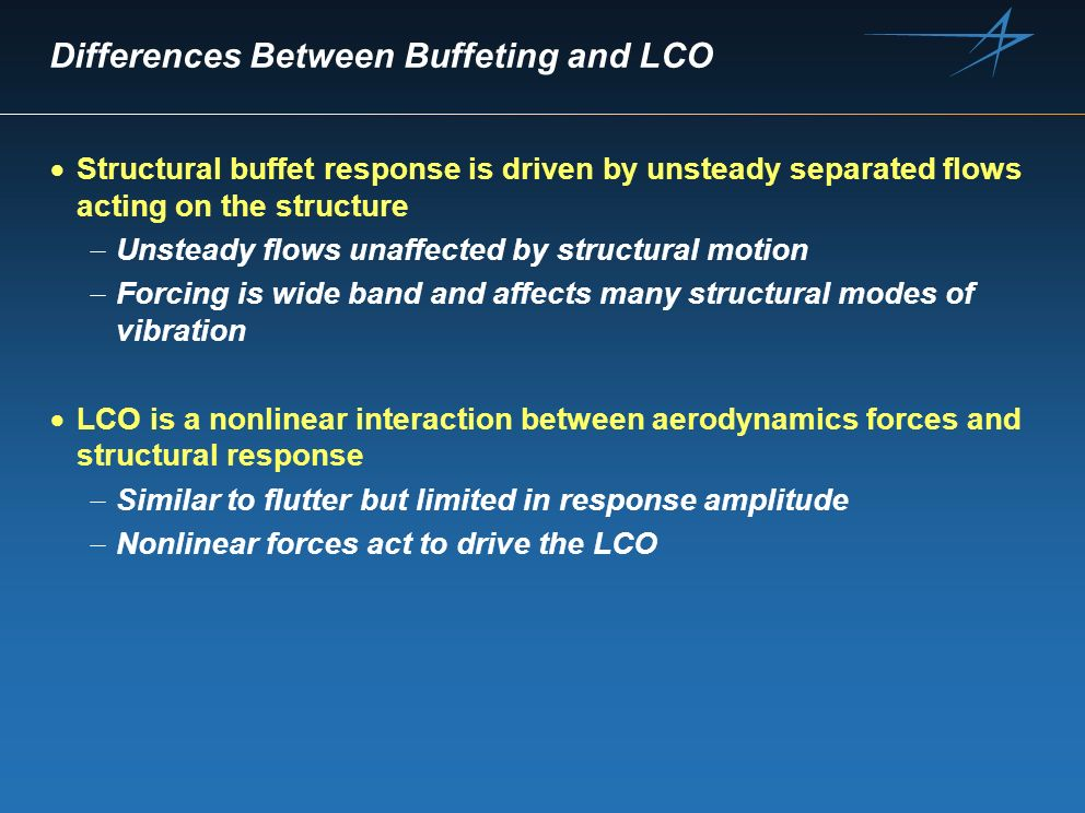 Differences Between Buffeting and LCO