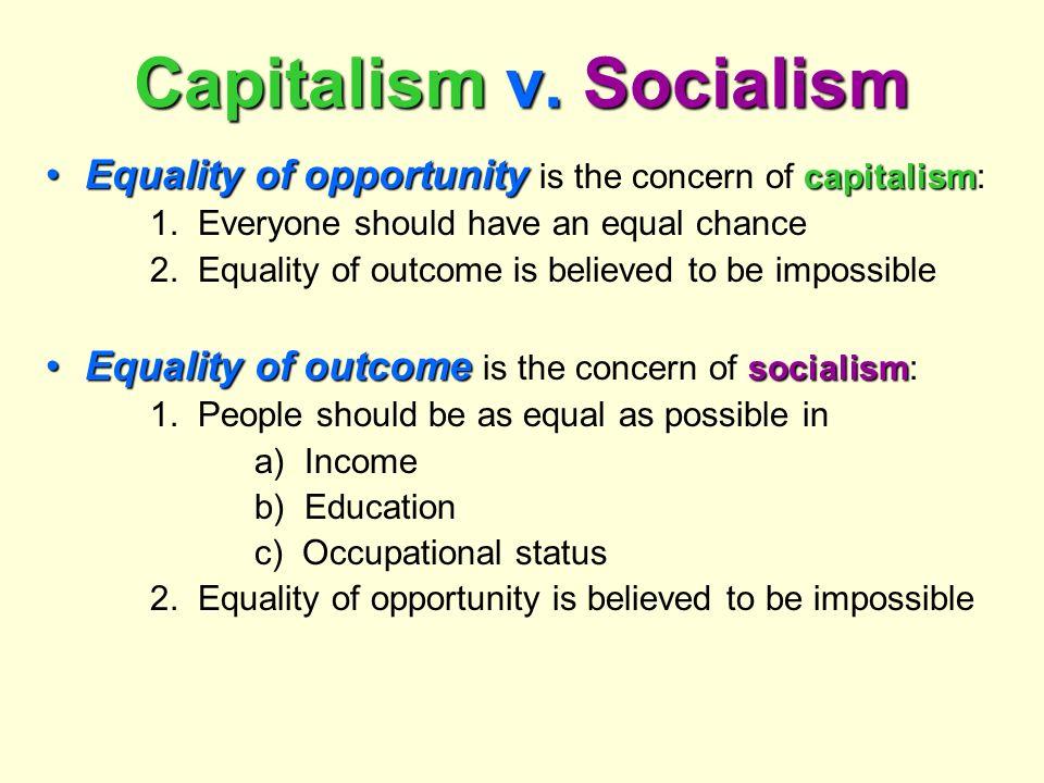 Capitalism v. Socialism