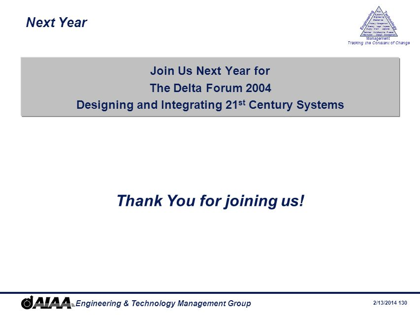 Designing and Integrating 21st Century Systems