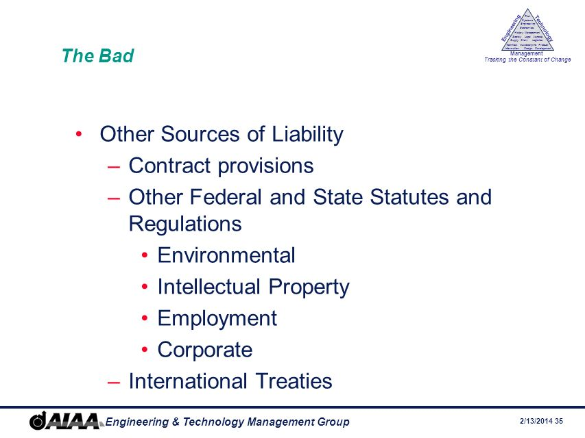 Other Sources of Liability Contract provisions