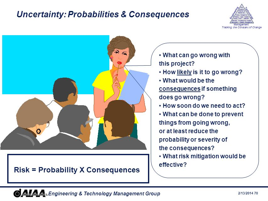 Uncertainty: Probabilities & Consequences