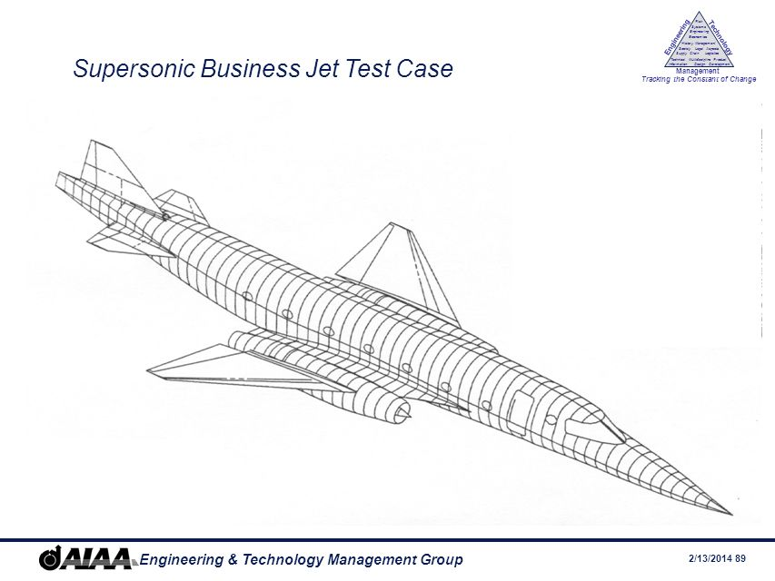 Supersonic Business Jet Test Case