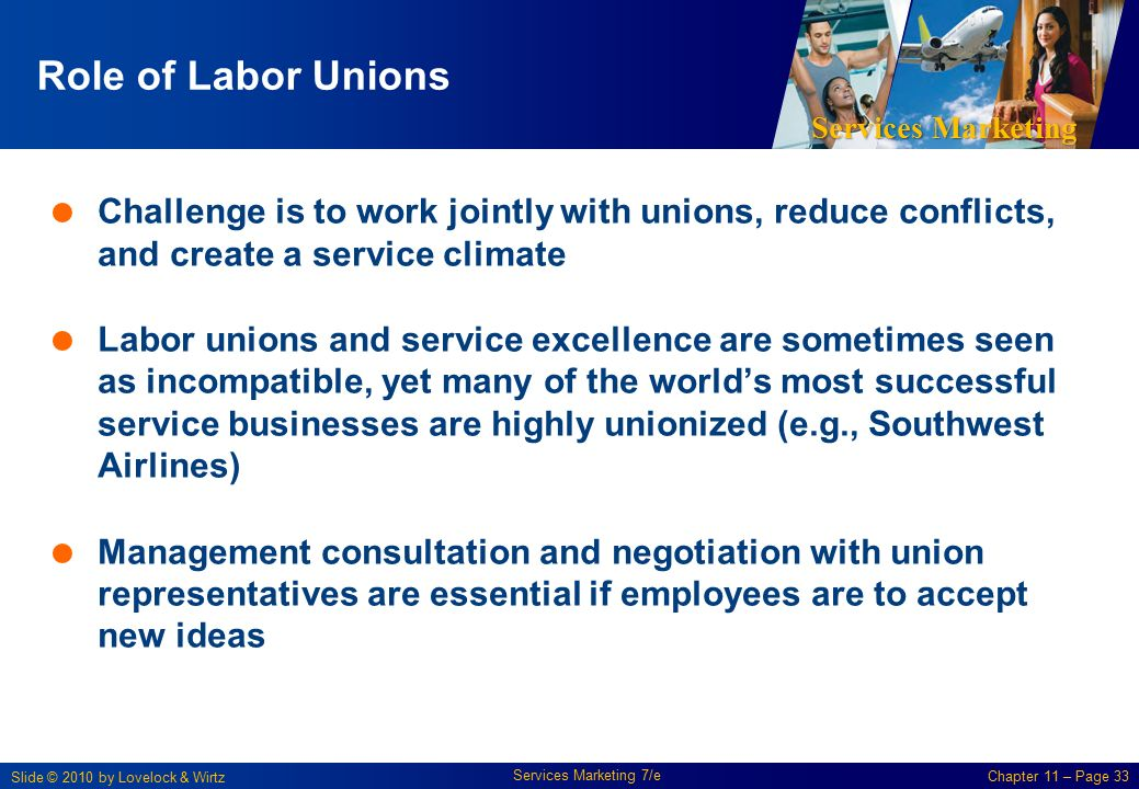 Labor unions and their important role in the industrial world