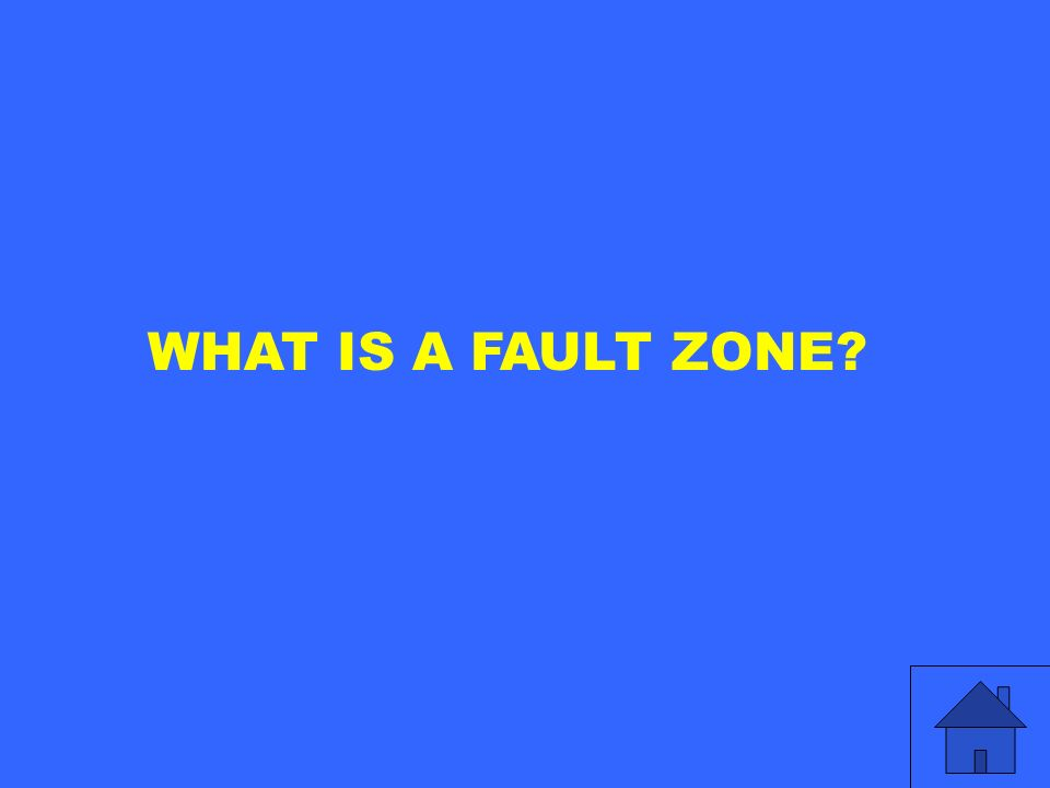 WHAT IS A FAULT ZONE