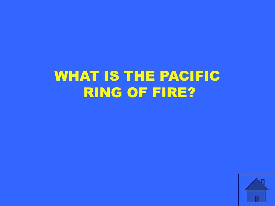 WHAT IS THE PACIFIC RING OF FIRE