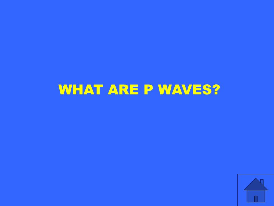 WHAT ARE P WAVES