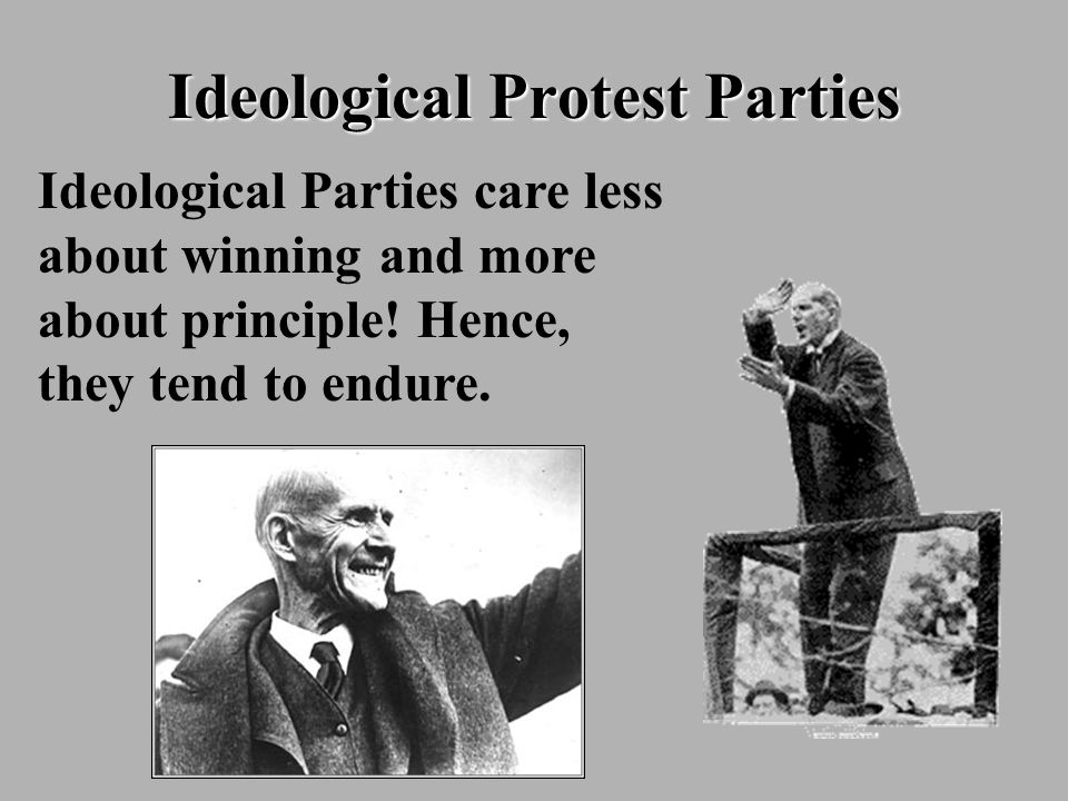 Ideological Protest Parties