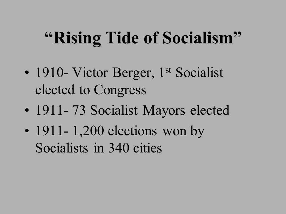 Rising Tide of Socialism