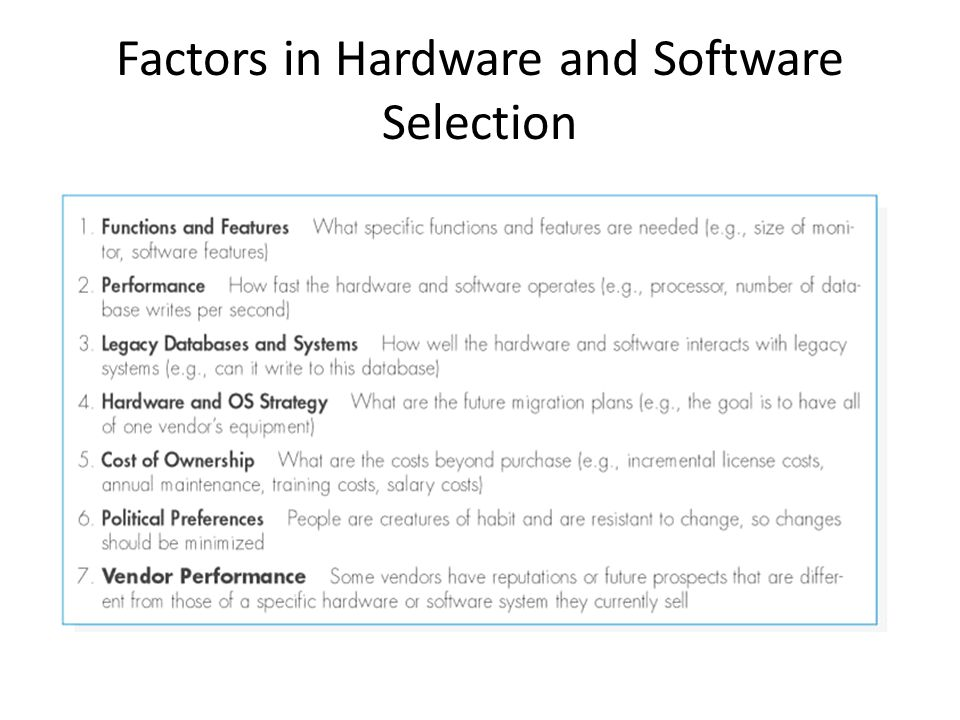 Selection, Hardware and Software Requirements of a PLC