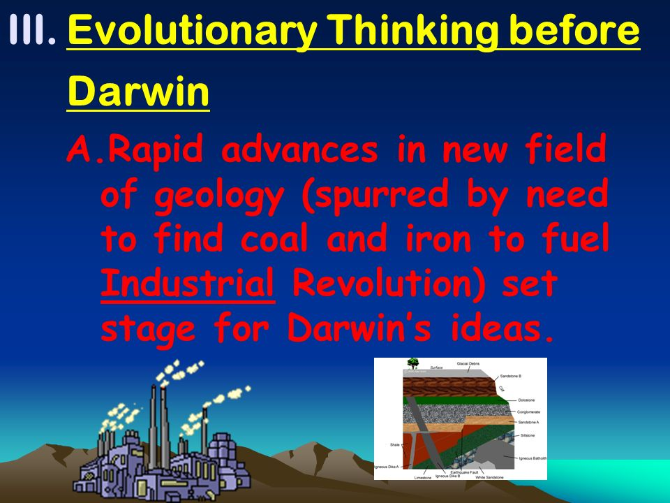 Evolutionary Thinking before Darwin