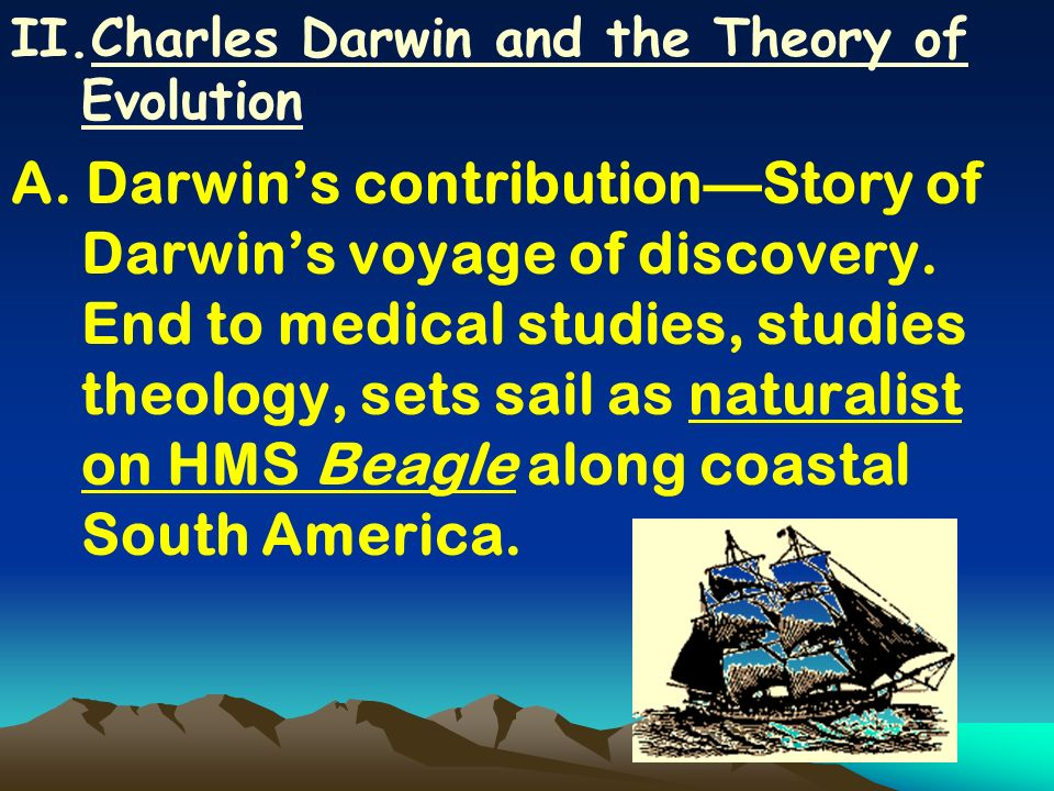 Charles Darwin and the Theory of