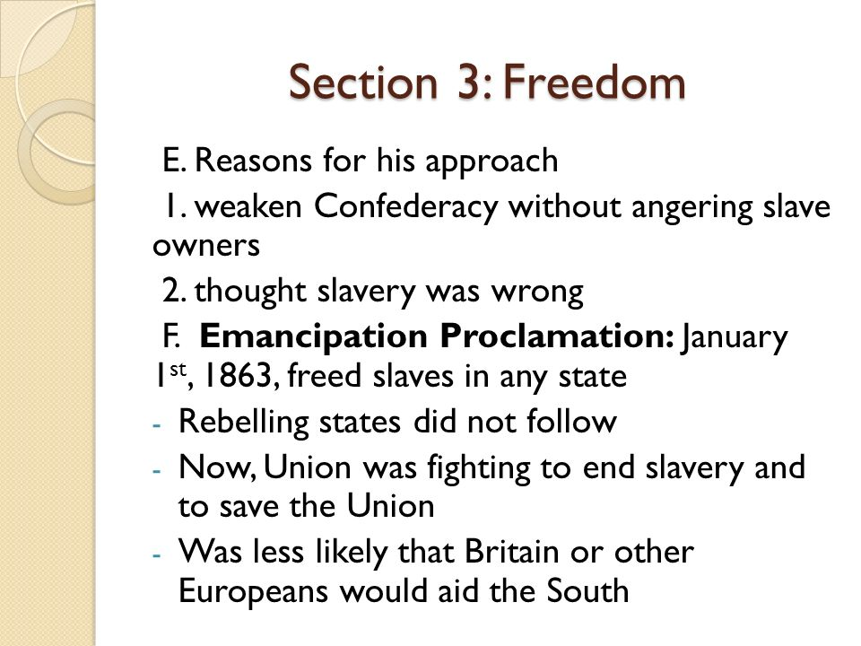 How Is Sectionalism Related To Freedom 28 Images Ppt