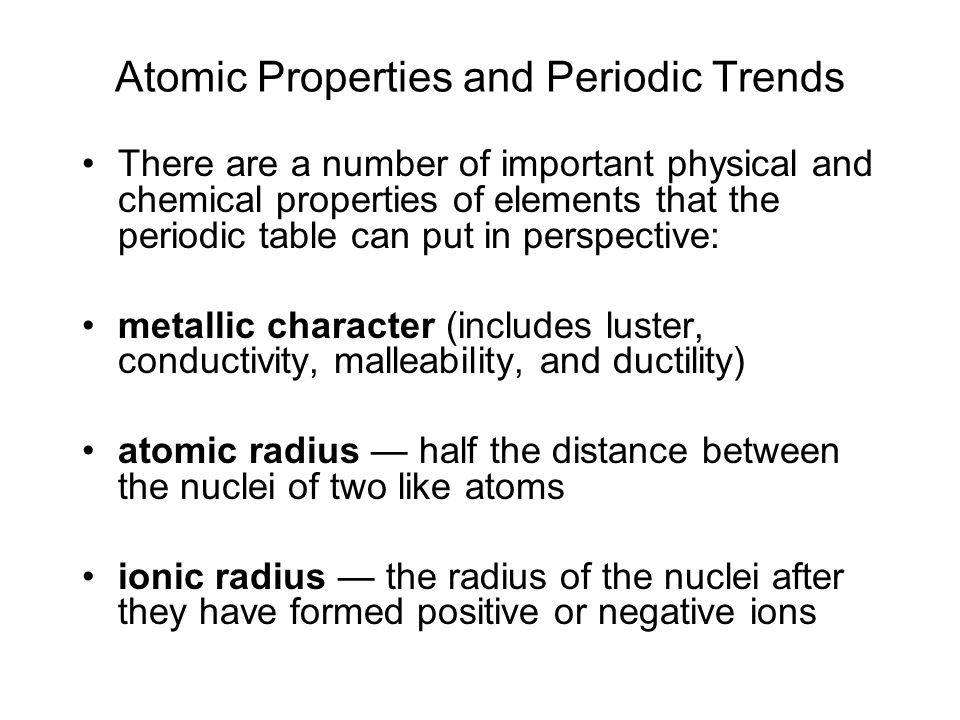 Periodic Table physical properties of elements on the periodic table luster : Electron Configuration and Periodicity - ppt video online download