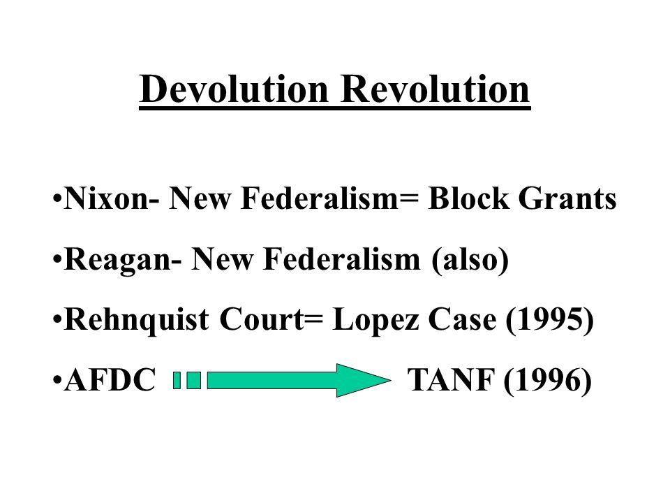 Devolution Revolution