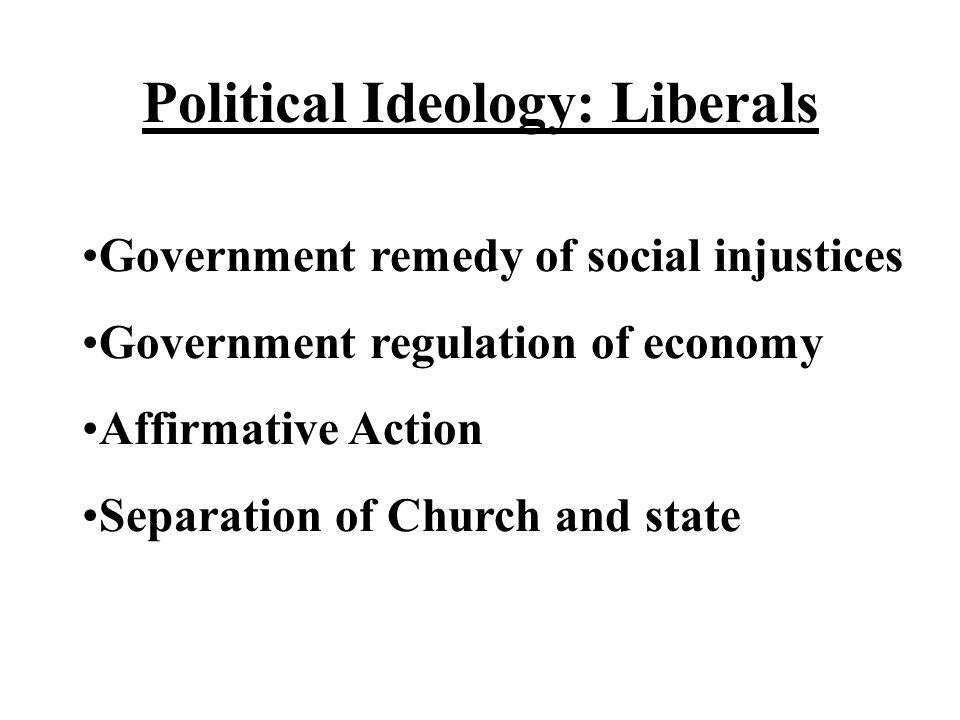 Political Ideology: Liberals