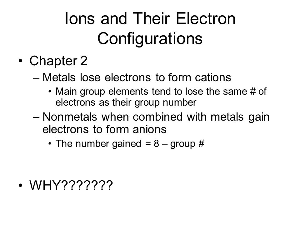 Ionic Bonds and Some Main-Group Chemistry - ppt video online download