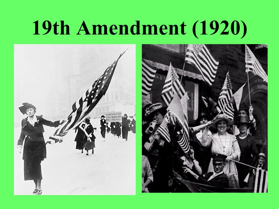 19th Amendment (1920)