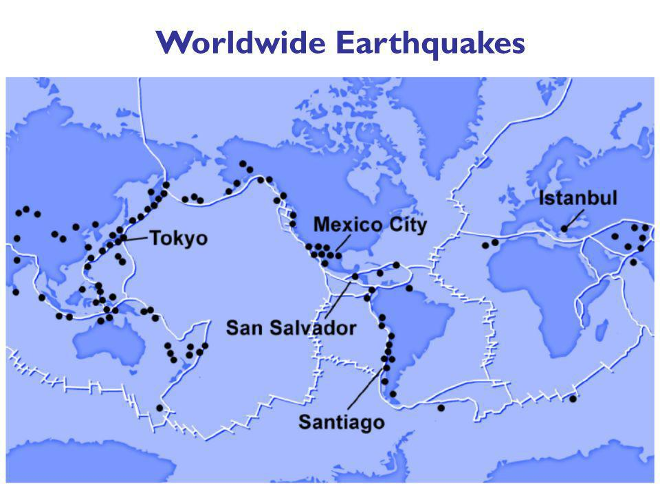 Worldwide Earthquakes