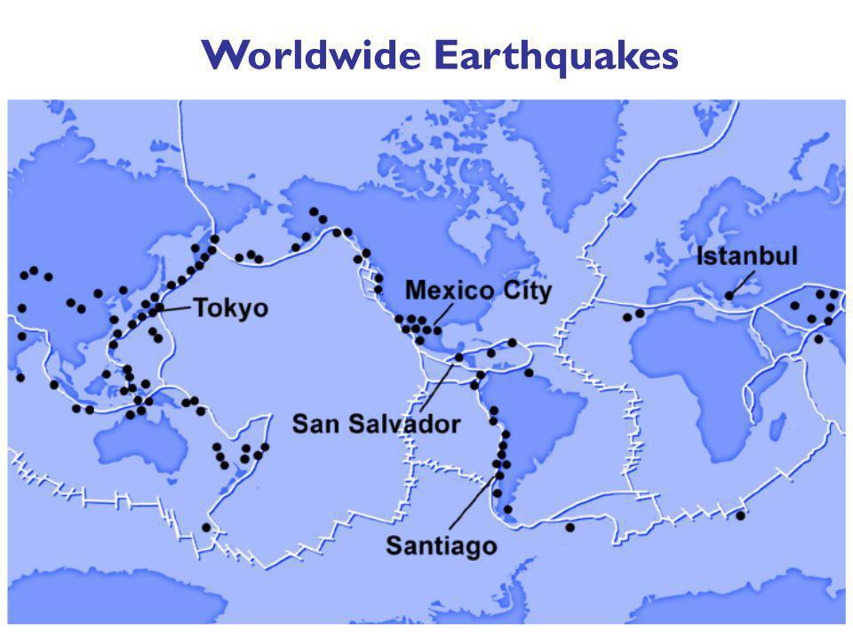 Worldwide Earthquakes