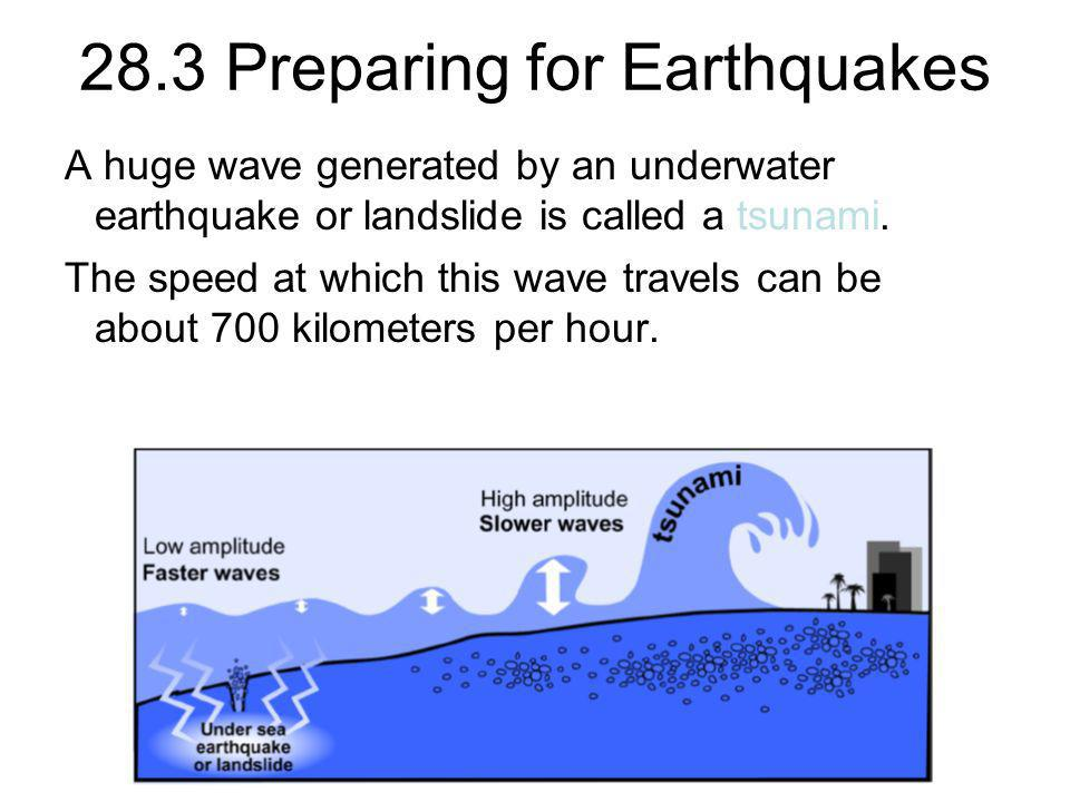 28.3 Preparing for Earthquakes