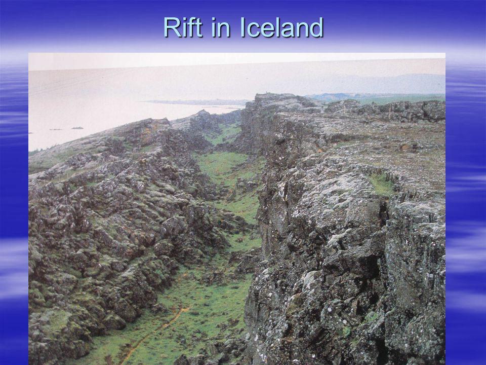 Rift in Iceland
