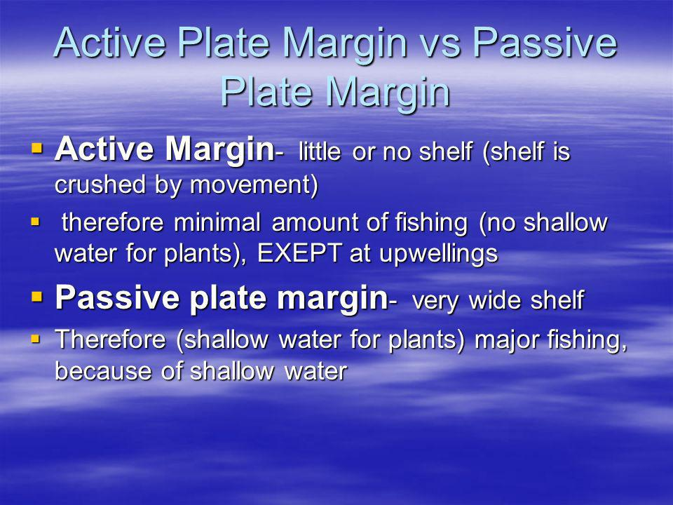 Active Plate Margin vs Passive Plate Margin