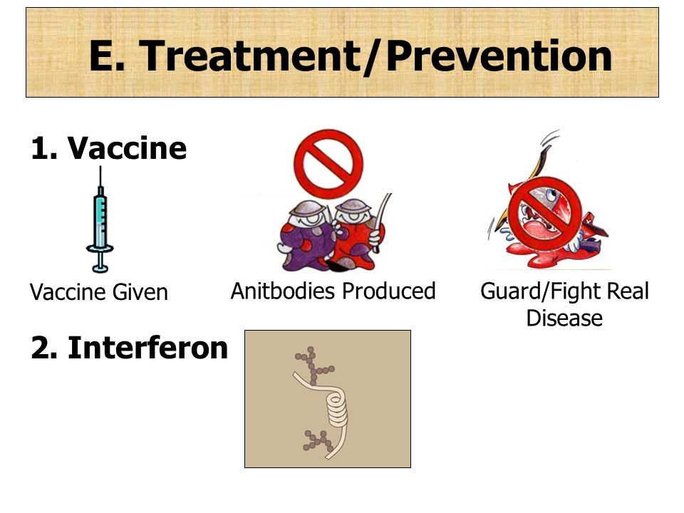 E. Treatment/Prevention