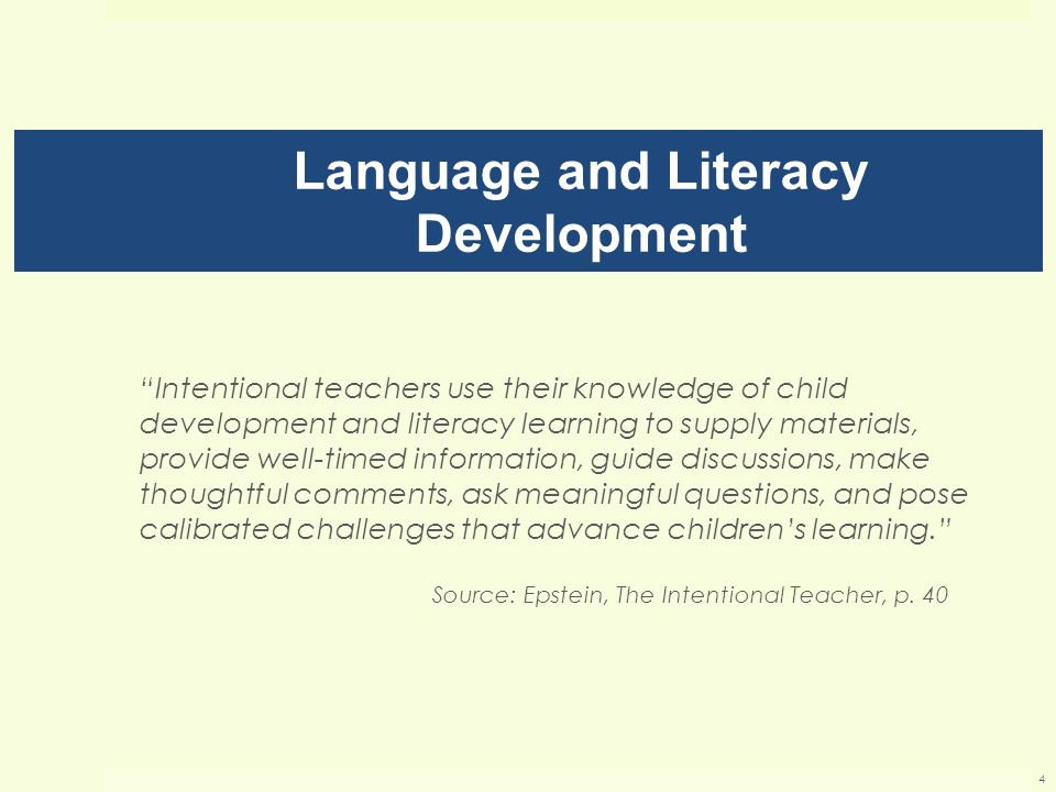 language development in children essay Stages of childrens writing in the early stages of learning to write and read, young children compose development learning to write is of language.