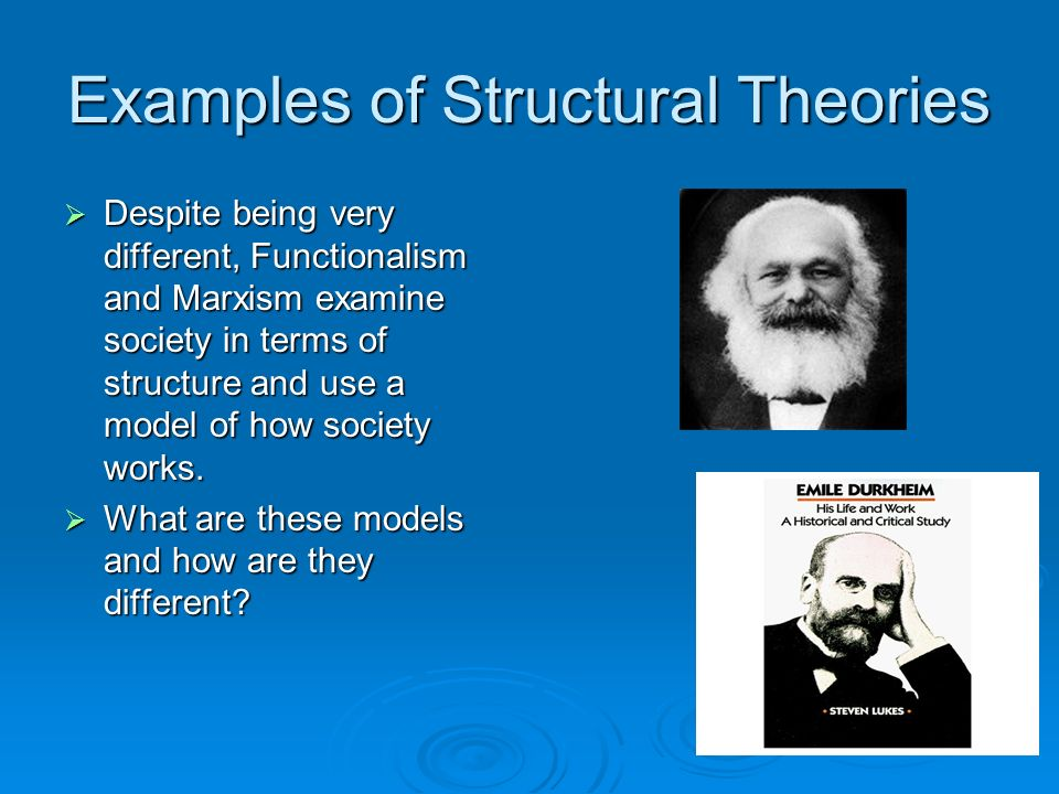 structural theories
