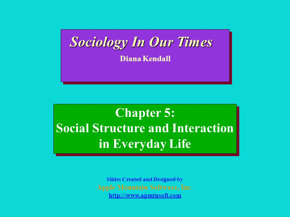 Sociology In Our Times Chapter 5: