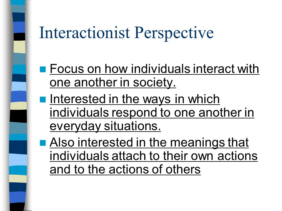 Interactionist Perspective 28 Images Early Sociologist Current