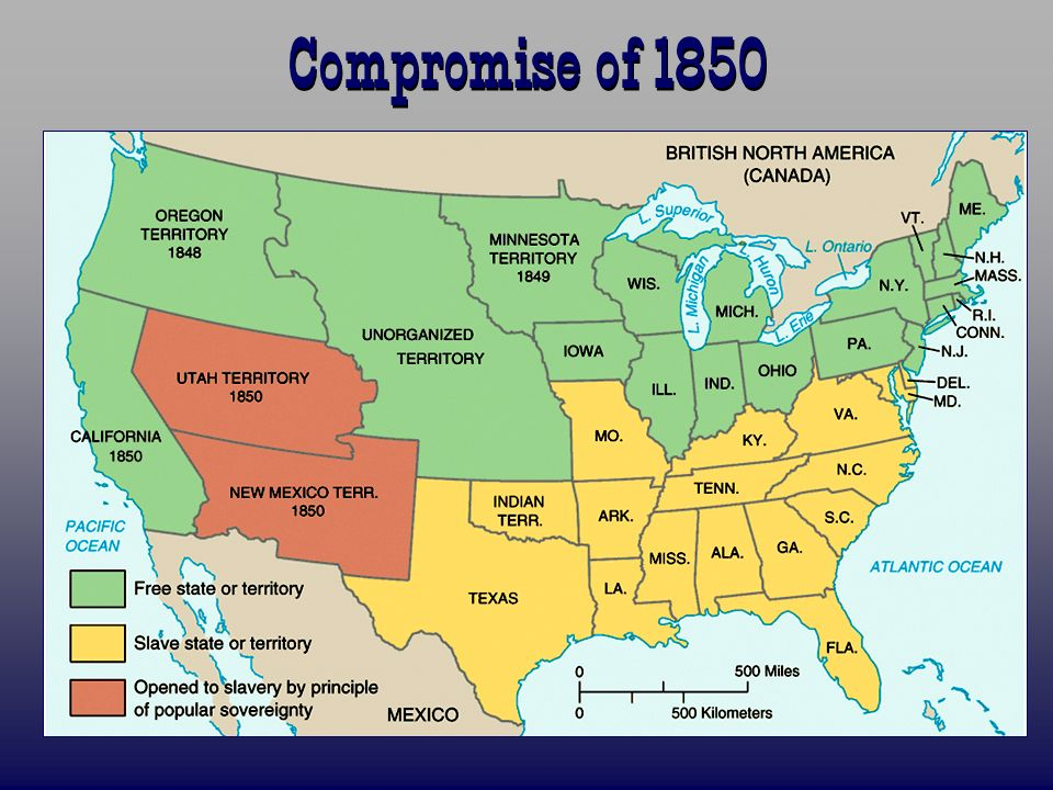 The 1850s Road To Secession Ppt Download