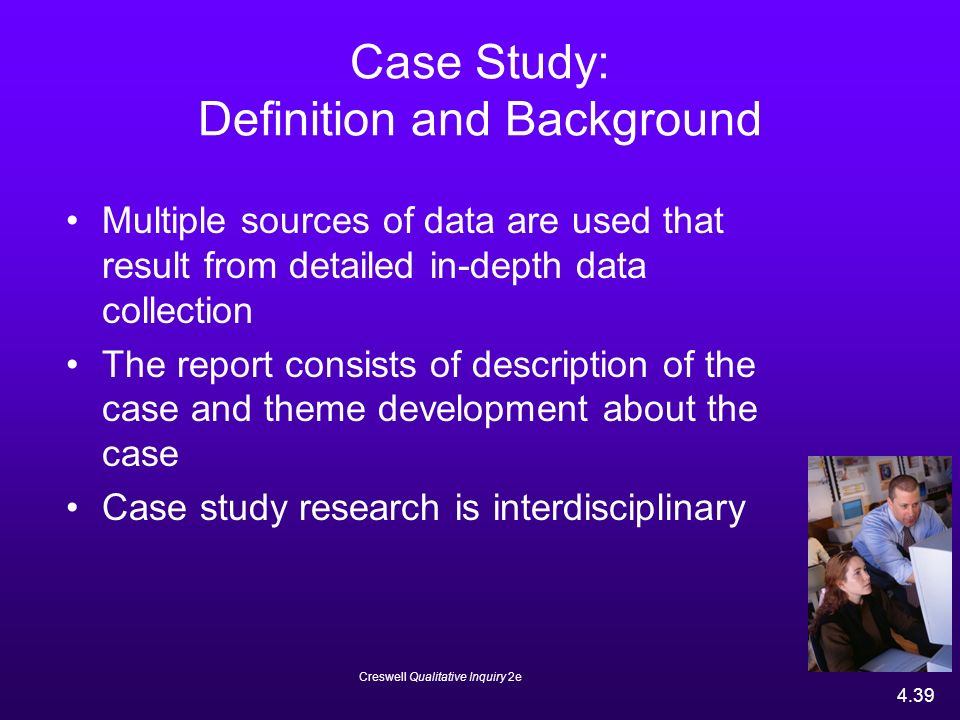 case study research definition The case-study approach is a research strategy entailing approach is particularly relevant to such experiences an empirical investigation of a contemporary phenome- (thomas, 1998) non within its real life context using multiple sources of.