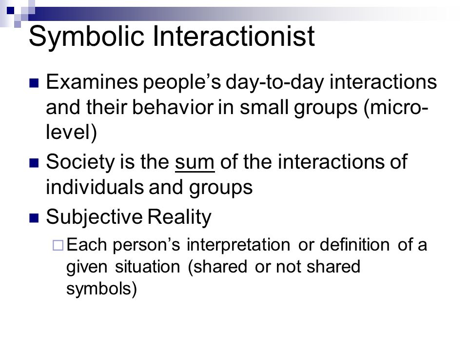 """symbolic interactionism 2 essay Symbolic interactionism and symbolic meaning"""" contribute to that explanation my essay was delivered on time besides receiving a favorable grade."""
