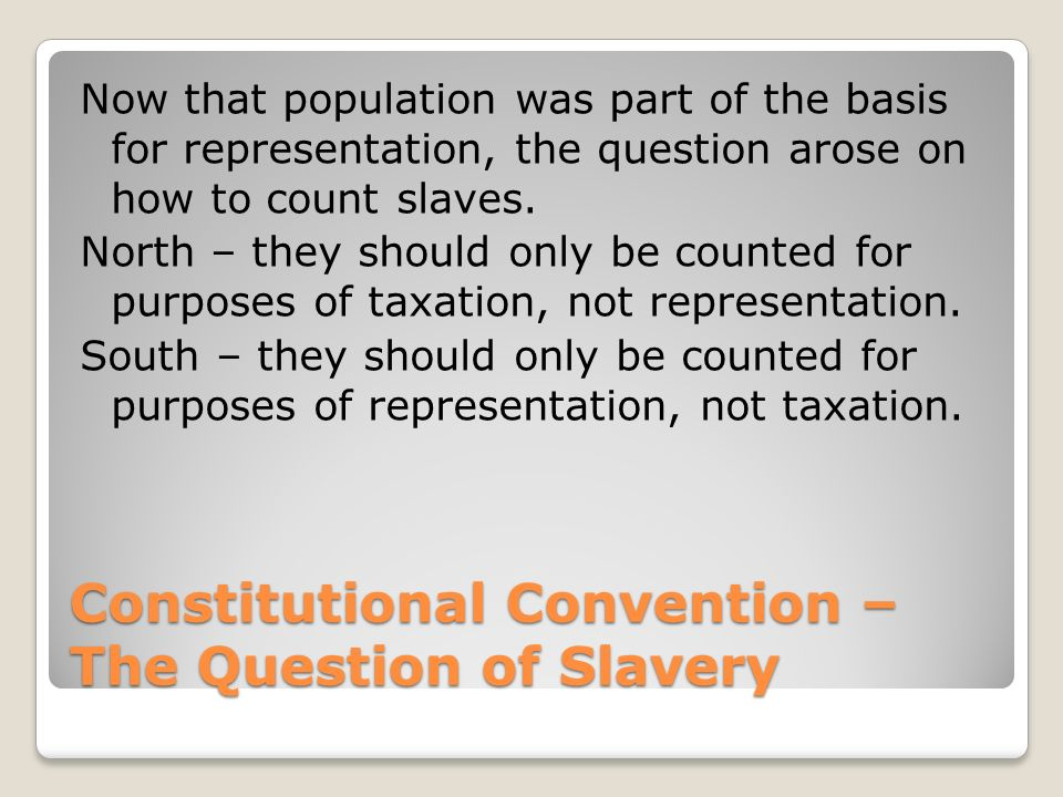 Constitutional Convention Paper Requirements