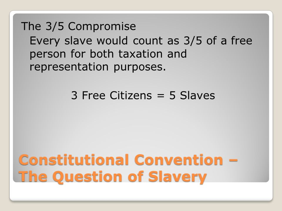 Image Result For Slavery In The American South Constitutional Rights