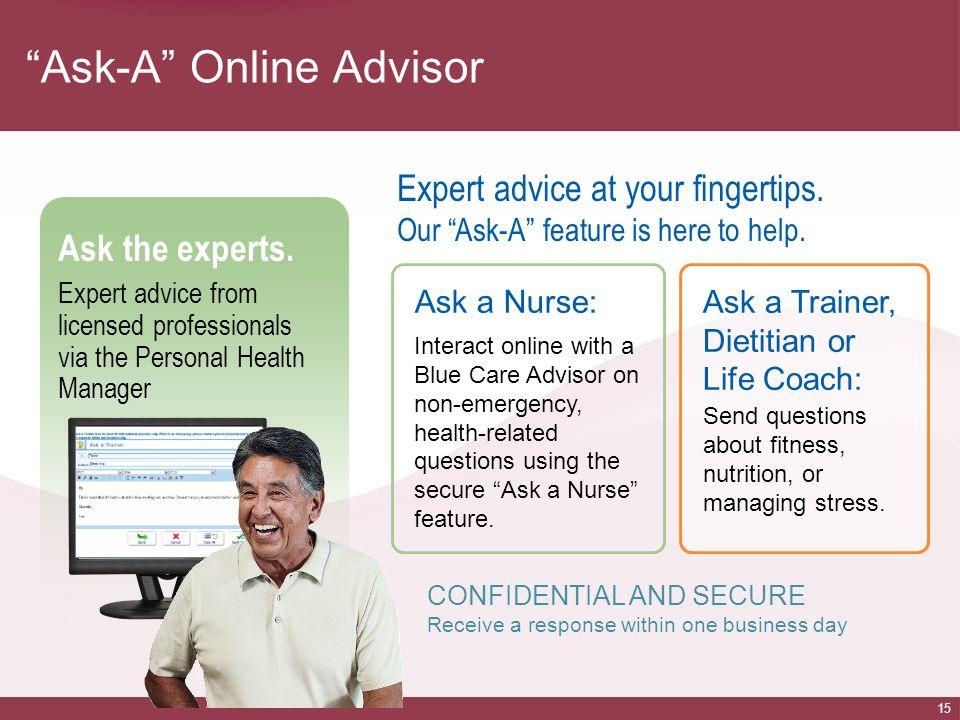 Ask-A Online Advisor