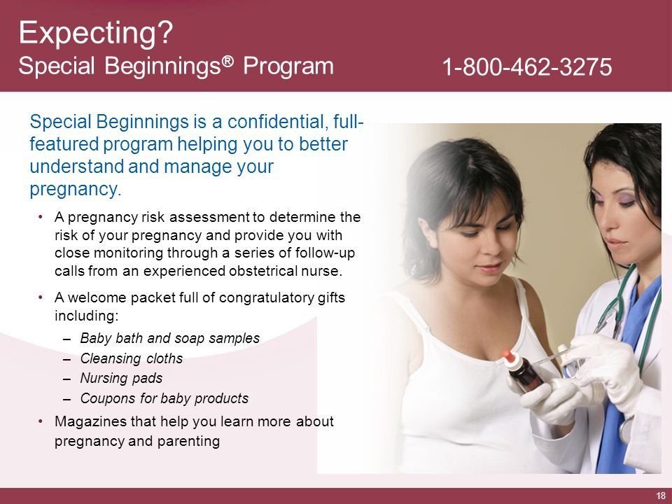 Expecting Special Beginnings® Program