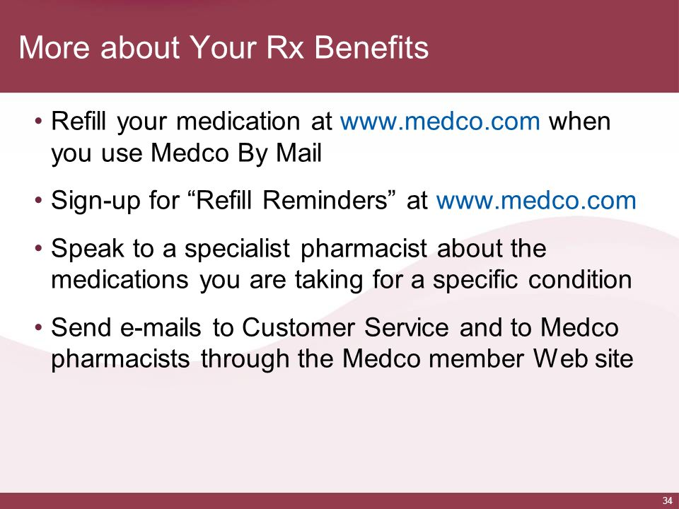 More about Your Rx Benefits
