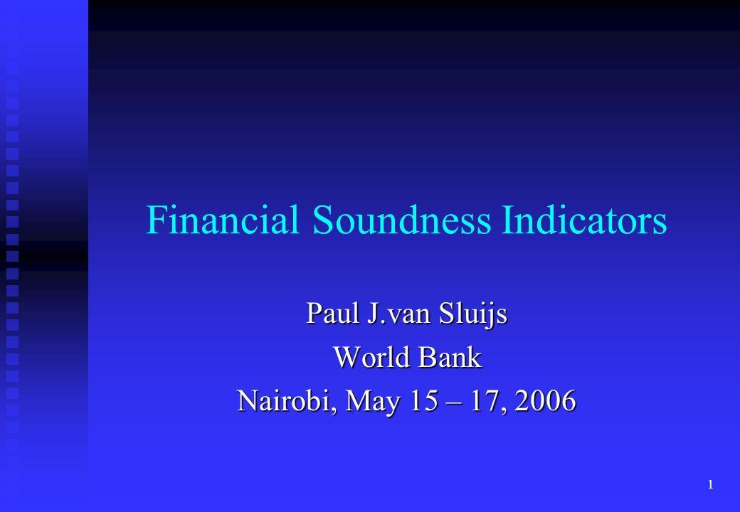 Financial Soundness Indicators