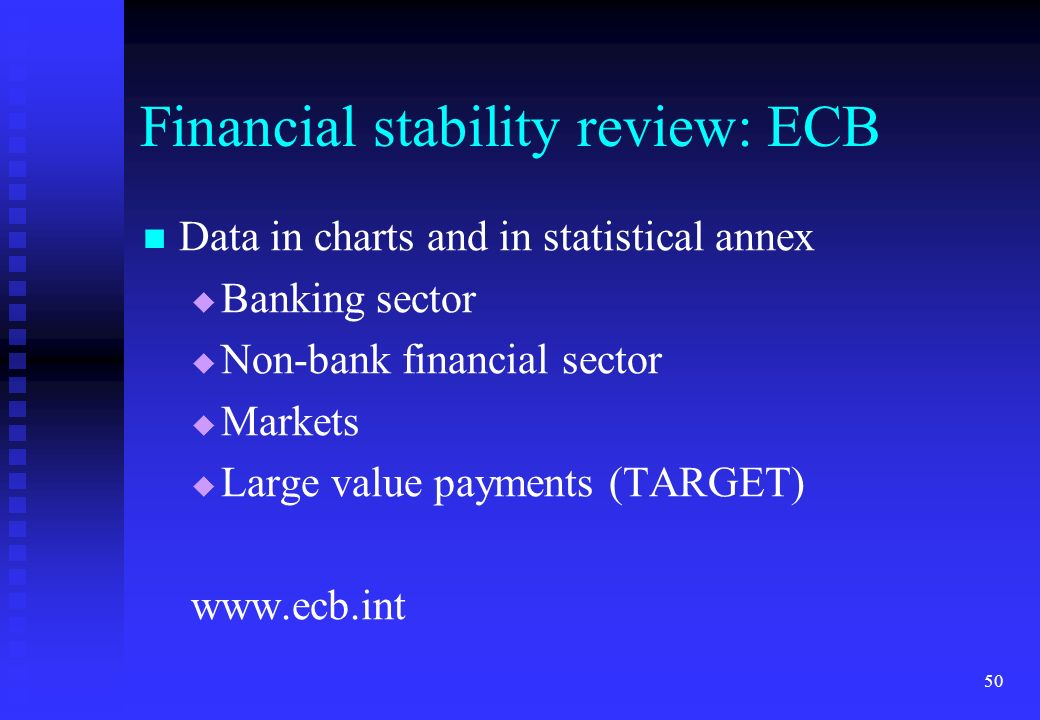 Financial stability review: ECB