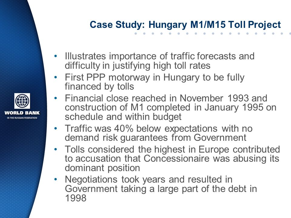 Case Study: Hungary M1/M15 Toll Project