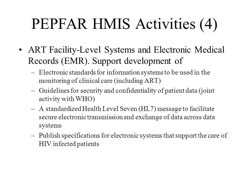PEPFAR HMIS Activities (4)
