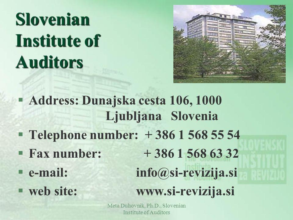 Slovenian Institute of Auditors