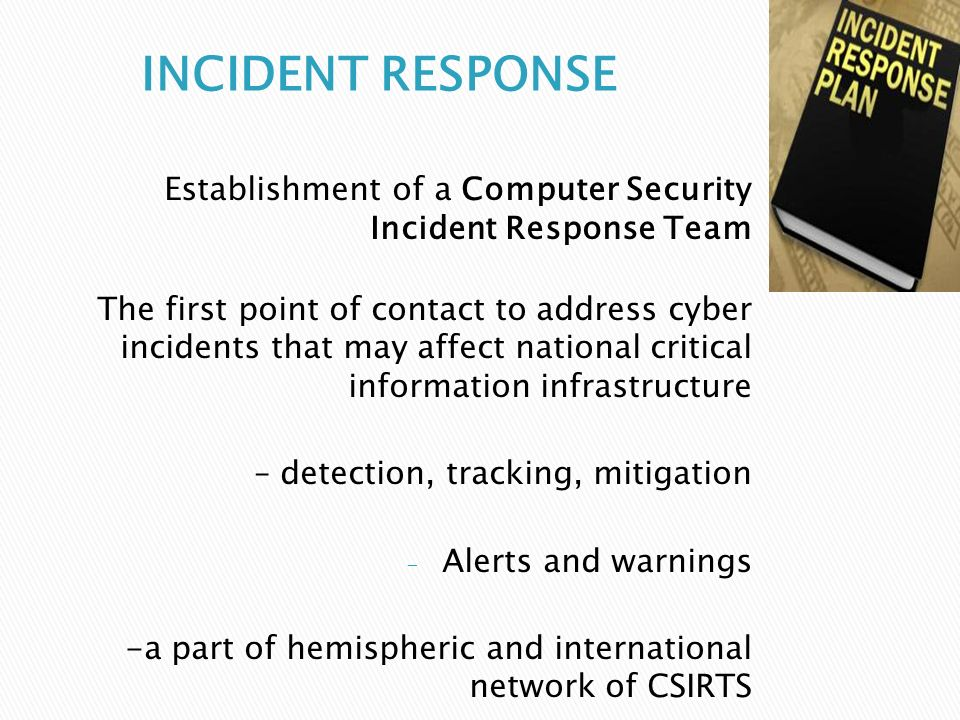 Responding to Customer's Security Incidents, Part 1: Establishing Teams and a Policy
