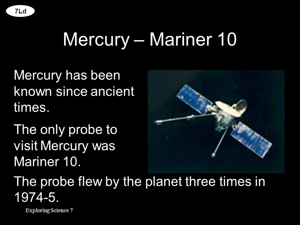 Exploring Space Mercury Earth Venus Mars Jupiter Saturn ...
