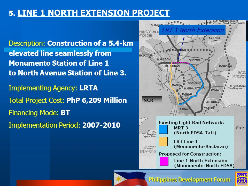 5. LINE 1 NORTH EXTENSION PROJECT