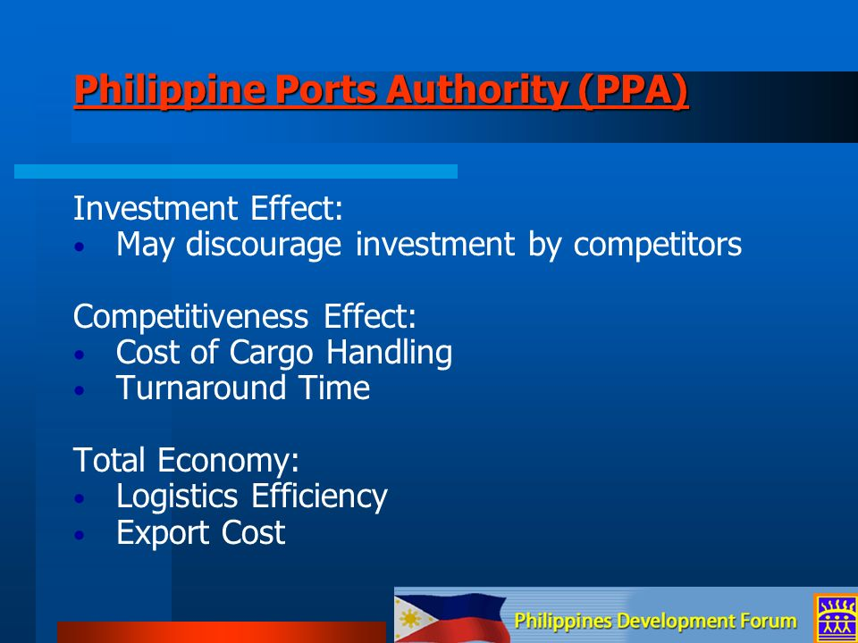 Philippine Ports Authority (PPA)